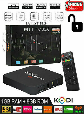MXQ PRO Android 7.1.2 Quad core S905W 4K H.265 TV BOX 18.3 Media WIFI / x96 Mini