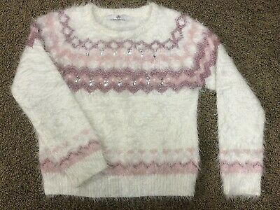 Marks & Spencer M&S Girls Fluffy Sweater Age 11-12