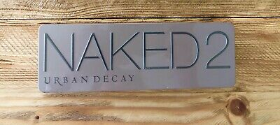 Naked 2 Urban Decay eyeshadow palette makeup sombras maquillaje
