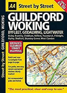 AA Street by Street Guildford, *             , Used; Good Book