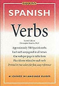 Spanish Verbs (Barrons foreign language verbs), Kendris, Christopher, Used; Good