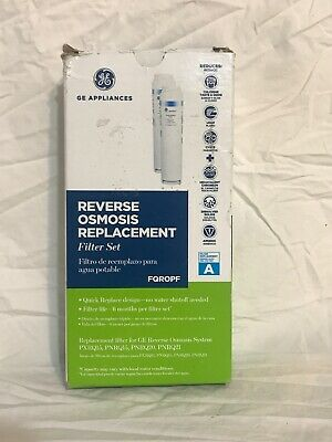 GE Profile FQROPF Reverse Osmosis Replacement Filter( Set of 2)