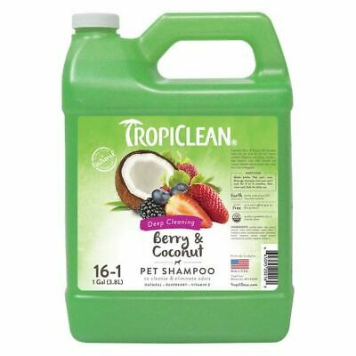 Tropiclean Berry & Coconut Shampoo - Deep Cleaning 3.78l - 261598