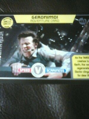 Dr who monster invasion ultimate Ltd Edition card number 453 geronimo