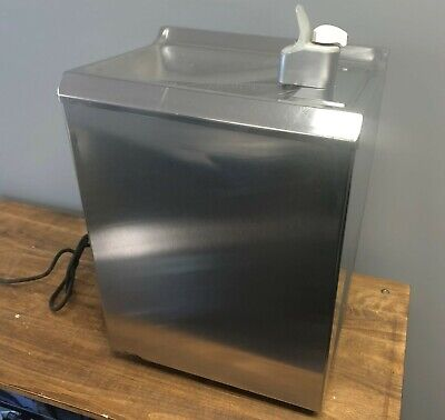 Stainless Steel Water Drinking Fountain Vintage Wall Mount