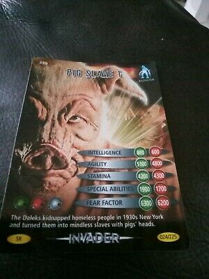 Doctor Who Battles In Time TCG Super Rare Cards