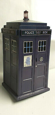 BBC Licensed DOCTOR WHO TARDIS Police Box BATTLES IN TIME Card Game BOX Empty