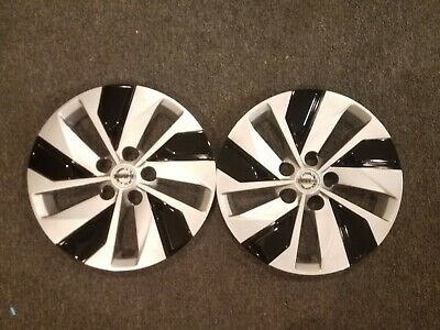 """1 Brand New Pair 2019 19 2020 20 Altima 16"""" Hubcaps Wheel Covers 53099"""