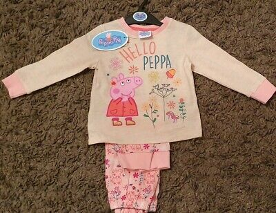 Bnwt Peppa Pig Pyjamas For Girls- 1.5-2Years Old! Fast Delivery! Great Gift!