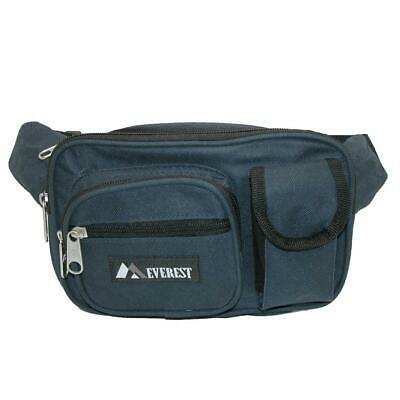 New Everest Fabric Multiple Pockets Fanny Waist Pack