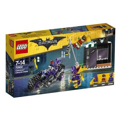 The Lego Batman Movie Catwoman Catcycle Chase 70902 BRAND NEW FREE Signed P&P