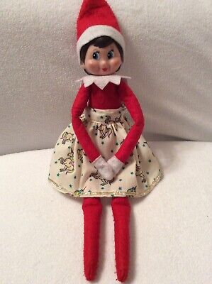 Elf Christmas Skirt prop/accessories handmade to fit on the shelf Elf