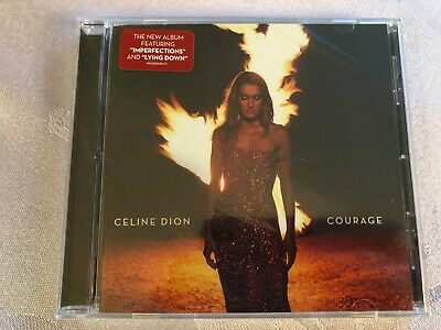 NEWLY RELEASED CD - CELINE DION COURAGE CD  - NEW factory sealed