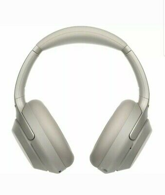 SONY WH-1000XM3 Wireless Bluetooth Noise-Cancelling Headphones - Silver -