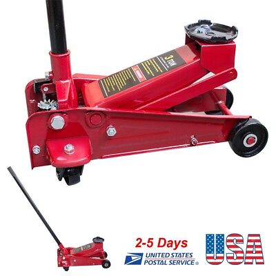 3Ton  6000lbs Heavy Duty Steel Low Profile Floor Jack Rapid Pump Car Lowrider CE