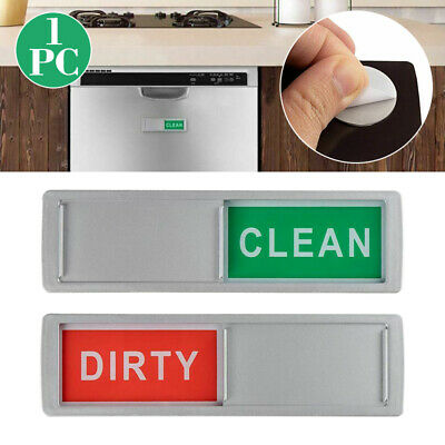 Creative Durable Dishwasher Magnet Clean Dirty Sign Gift New Home Using hotel UK