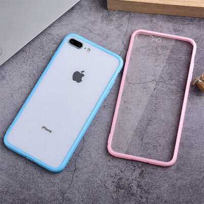 TPU Clear Bumper Case For iPhone 11 Pro XS Max XR X 8 7 6 Plus Shockproof Cover