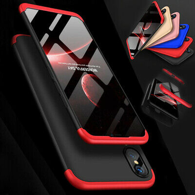 360°Full Cover Hybrid Hard PC Shockproof Case Cover Skin For Huawei P20 lite Pro