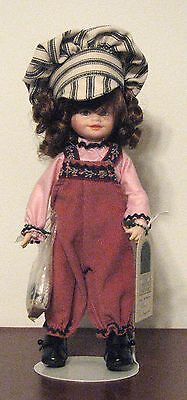 Vintage Robin Woods Ellen the Engineer Doll, NEW,  With Tag & Original Box