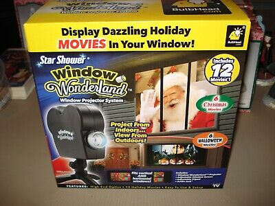 Star Shower ~ Window Wonderland Movie Projector ~ As Seen on TV! (NEW)