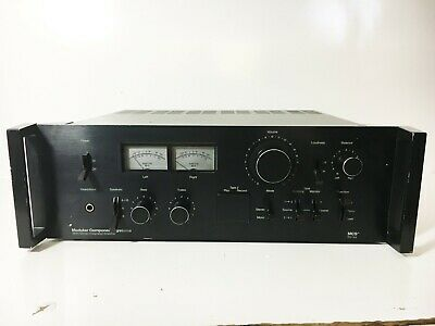 MCS Modular Component Systems Stereo Integrated Amp Amplifier Model 3845