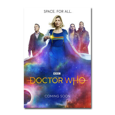 Doctor Who Season 10 TV Series Silk Poster 12x21 24x43 inch 003