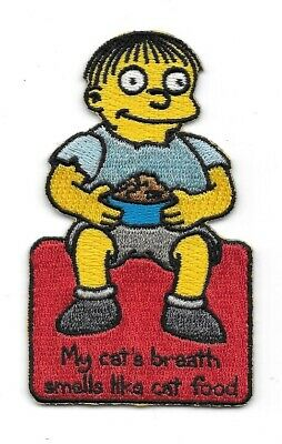 The Simpsons Cletus and Brandine as Trailer Trash Embroidered Patch NEW UNUSED