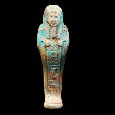 Fine Antique Egyptian Golden Ushabti (Shabti) Statue Figure..ANCIENT EGYPT