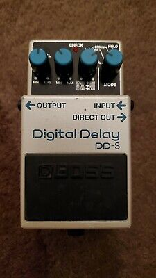 Boss DD-3 Digital Delay Guitar Effect Pedal Excellent Shape  Used