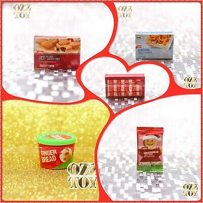 Coles little shop 1&2 mini collectables full set Christmas Edition without case