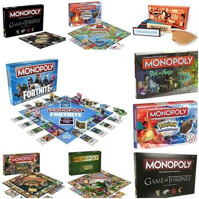 UK Monopoly Board Game - Brand New and Sealed - Lots of editions to choose from7