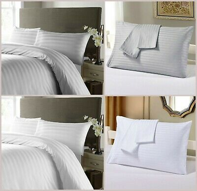 Luxury 300TC Two Oxford Pillow Case Cases 100/% Egyptian Cotton Pair Pack Bedroom