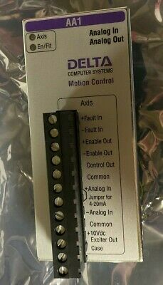 Delta Computer Systems Rmc 70 Axis70-Aa1 Rev 1.00 Axis Control Module New
