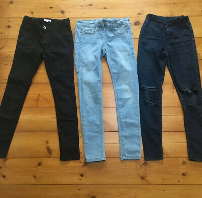 Girls Clothes Bundle Next Blue Zoo Skinny Trousers 9-10 Years ⭐️GC⭐️