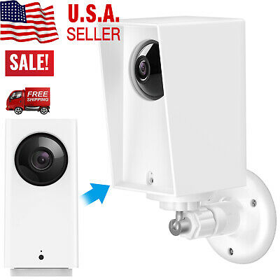 For Wyze Cam Pan Security Camera Wall Waterproof Mount Bracket Protective Case