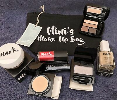 Avon Cosmetics Complete With Make Up Bag (New )