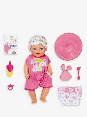 Zapf Creations - Baby Born Soft Touch Little Girl Doll & Accessories - BRAND NEW