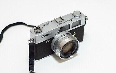 Canon Canonet QL17 35mm film rangefinder camera [Mint]