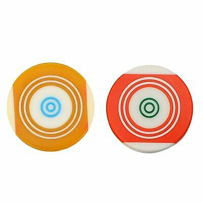 Pool Ball Striker Smooth Surface Standard Size for Carrom Board pack of 2 US