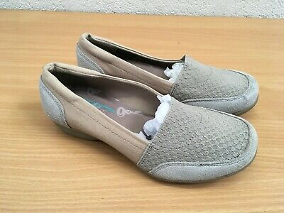 Skechers Career Shoes Taupe Size 3.5 New Flat Shoes