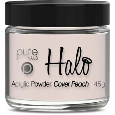 Halo By Pure Nails Acrylic Powder COVER Peach - 45g Pot