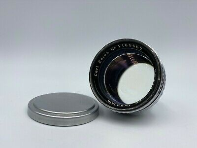 **Exc+++++** Carl Zeiss Sonnar 50mm F/1.5 Contax RF Mount Lens From Japan &876