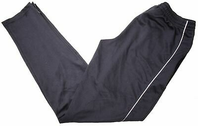 ADIDAS Boys Tracksuit Trousers 15-16 Years W28 L32 Black Polyester  LZ02