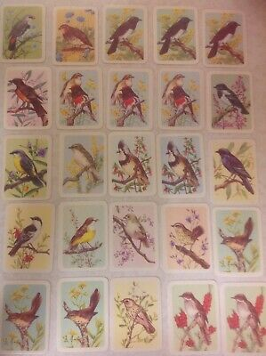 Tuckfields Australiana Bird Studies cards of a series  x 66 excellent condition
