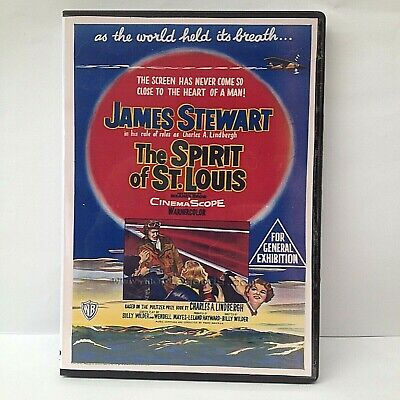 The Spirit Of St. Louis Starring James Stewart