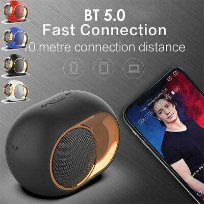 Bluetooth 5.0 Wireless Speaker Rechargeable Stereo BASS TF USB FM Radio Subwoofe