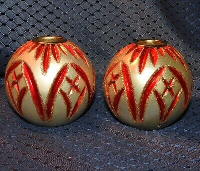 Waterford Heirloom Votive Christmas/Holiday Candle Holders