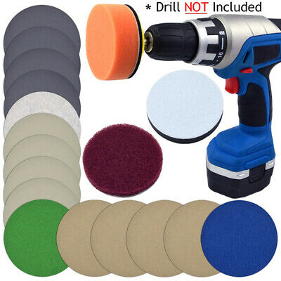 Sandpaper Polishing Pad Scouring Cloth Kit For Automotive Headlights Cleaning