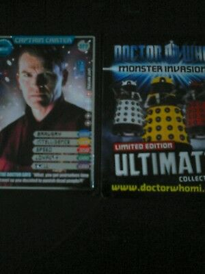 Dr who monster invasion ultimate card number 377 Captain Carter