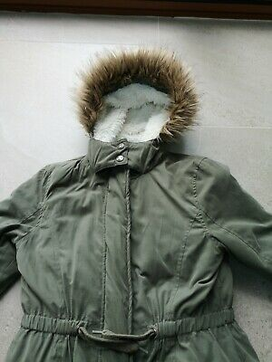 Girl's Mantaray Winter Coat Excellent Condition Age 9-10 With Detachable Gilet
